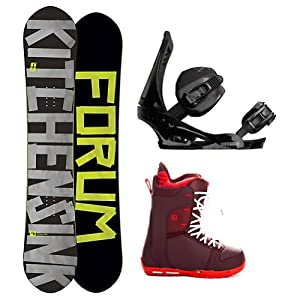 Buy Forum The Kitchen Sink Complete Snowboard Package by Forum Novelties