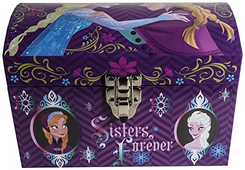 Disney Frozen Elsa & Anna Dome Trunks Box/Chest Extra Small - 1