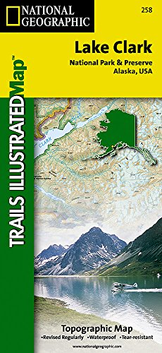 Lake Clark National Park and Preserve (National Geographic Trails Illustrated Map)