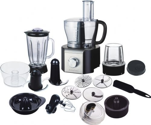 Best New Andrew James Multifunctional Food Processor 800W Over 10 Different Attachments including Glass Blender. New In Stock  Review