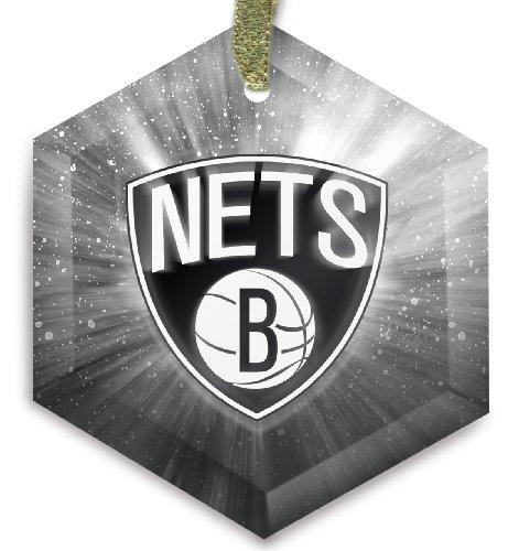 brooklyn nets crystal christmas ornament check price