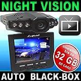 """Auto-Black-Box -Hochgeschwindigkeitskamera Car-Camera-Recorder + Nachtsicht + Bewegungssensor + Farbbildschirm/Dashboard 2,5 TFT LCD Display + 4GB SD Karte /Unfalldatenschreiber/�berwachungskamera Video/Audio DVRvon """"Lexfield �"""""""