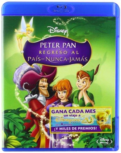 Peter Pan en Regreso al país de Nunca Jamás [Blu-ray]