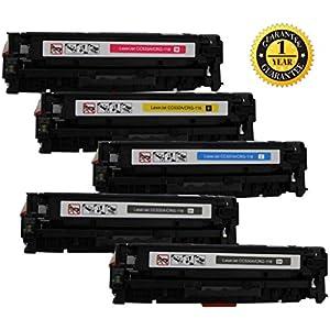 INK E-SALE CC530A CC531A CC532A CC533A 304A Toner Cartridge Compatible for HP Color Laserjet CP2025 CM2320 Series