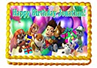 Paw Patrol Birthday Party 1/4 Sheet Edible Photo Birthday Cake Topper. ~ Personalized!