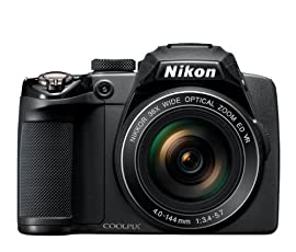 Nikon Coolpix P500 Digital Camera (Black)