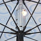 光るファッション傘 bright night ブライトナイト 大人用 雨傘 [Ripple Effect]