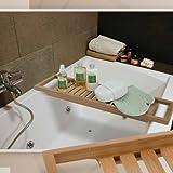 BAMBUS Badewannenablage Badewannenaufsatz Wannenablage aus Bambus Badewannen Ablage