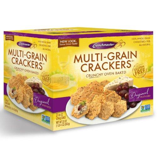 crunchmaster multi grain crackers gluten free 20 oz