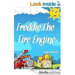 Fire Engine Book: Freddie The Fire Engine