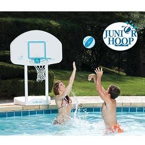 Dunn Rite JuniorHoop Portable Pool Basketball Hoop Set by Dunn Rite