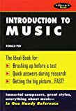 img - for Introduction To Music 1st (first) by Pen, Ronald (1991) Paperback book / textbook / text book