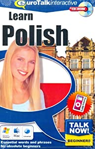 Talk Now Learn Polish: Essential Words and Phrases for Absolute Beginners (PC/Mac)
