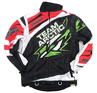 Arctic Cat Mens Sno Cross Snowmobile Race Jacket - OEM - 5240-27 by Arctic Cat