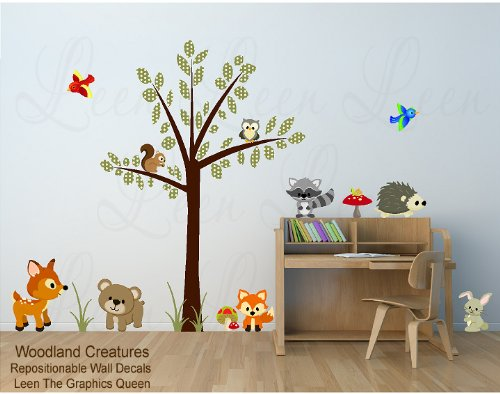 Woodland Nursery Decor