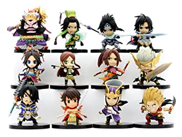 Dynasty Warriors 6 Eiketsu Mini Figure Vol.2 12 pieces (PVC Figure)