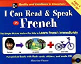 img - for I Can Read and Speak in French (Book + Audio CD) book / textbook / text book