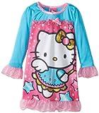 AME Sleepwear Nightgown Little Girls' Hello Kitty  Magical Kitty Nightgown