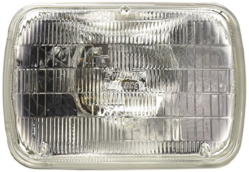SYLVANIA H6054 Basic Halogen Sealed Beam Headlight 142x200, (Contains 1 Bulb) (1988 Honda Accord Headlight Bulb compare prices)