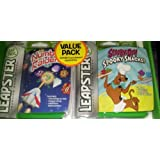 Leapster Arcade Style Learning Value Pack: Number Raiders And Scooby Doo! Spooky Snacks!