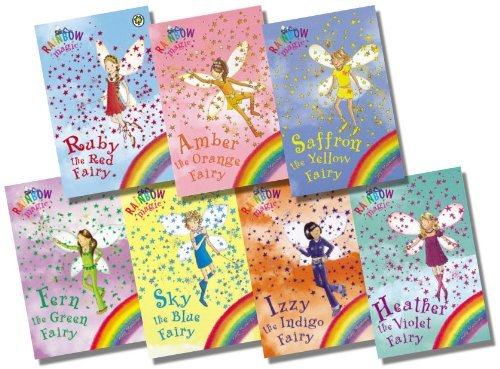 Rainbow Magic Colour Fairies Collection - 7 Books RRP  PDF