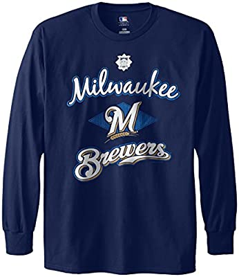 MLB Milwaukee Brewers Men's 58T Long Sleeve Tee