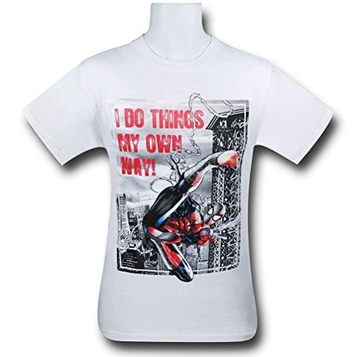 Spiderman Do Things Kids T-Shirt- Large 10/12