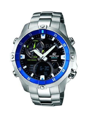 Casio EDIFICE Analog & Digital Sporty Divers EMA-100DJ-1A2JF (Japan Import)