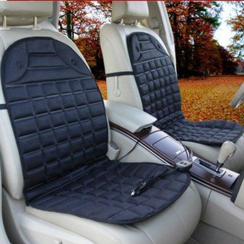 Jackey Awesome 12v Car Heated Seat Cushion Hot Cover Heat