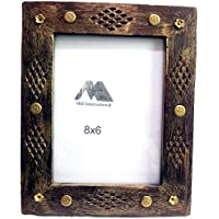 MH Craft Wooden Brown Photo Frame (Photo Size - 20.5 X 15.5 Cm, 1 Photos) …