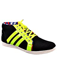 Aureno Men's Suede Sneakers - B011BGEHU0