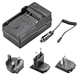 Neewer 4 In 1 Battery Charger Kit with US/EU/UK Plug/ Car Adapter for Nikon EN-EL15 Battery Works with MB-D11 MB-D12 MB-D14 MB-D15 MB-D16 Battery Grip D600 D610 D7000 D7100 D750 D800 D800S