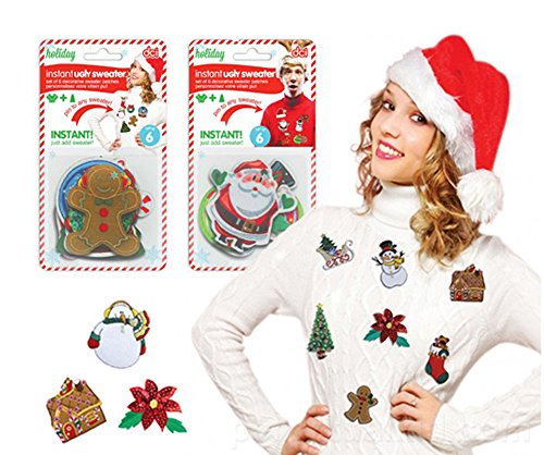 DIY Instant Ugly Christmas Sweater Kit-Choose From Two Styles!