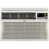 LG LW8012ER 8,000 BTU Window-Mounted Air Conditioner with Remote Control