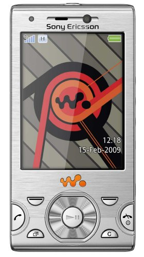 Sony Ericsson W995 Handy  (UMTS, 8.1 MP, UKW-Radio, 8GB) Cosmic Silver