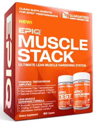 Epiq - Muscle Stack Ultimate Lean Muscle Hardening System - 90 Caplets Clearance Priced