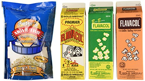 Gold Medal Products 2045 Flavacol Seasoning & Popcorn Salt Assortment (Gold Medal Seasoning compare prices)