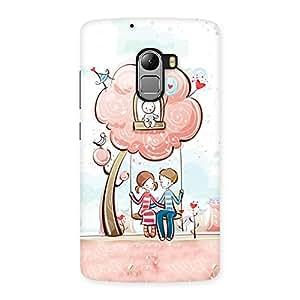 Swing Love Multicolor Back Case Cover for Lenovo K4 Note