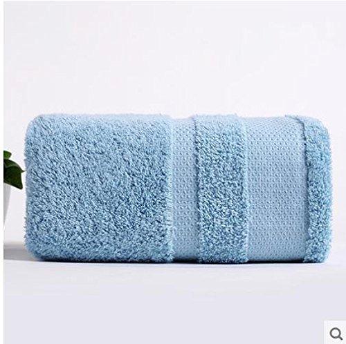 XH@G Bath bathroom color of long-staple cotton cotton bath towels bath towels , blue