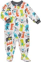 Carter\'s Toddler Footed Fleece Sleeper - Dinosaur Print-4T