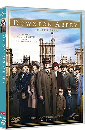 downton abbey - stagione 05 (4 dvd) box set