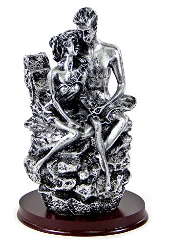 Love in 1st Degree Wedding Couple Embracing Statue Figurine