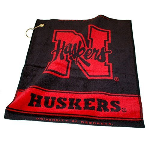 ncaa-woven-towel-ncaa-team-nebraska-by-team-golf