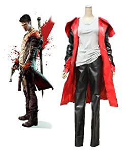 Devil May Cry 5 Dante Cosplay Costume Size M