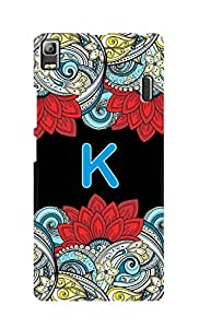 SWAG my CASE Printed Back Cover for Lenovo K3 Note