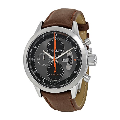 raymond-weil-mens-45mm-brown-leather-band-titanium-case-automatic-grey-dial-watch-7745-tic-05609