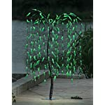 Lightshare Lighted Willow Tree, 5.5 Feet, 200 LED Lights, For All Season Decorations