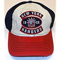 New York Rangers Slouch 3 Patch Reebok Hat - S/M