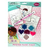 Doc McStuffins Paint Your Own Poster Kit - 10 Piece Set