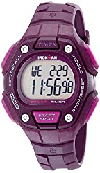 Timex Women's TW5K897009J Ironman Classic 30 Purple Watch